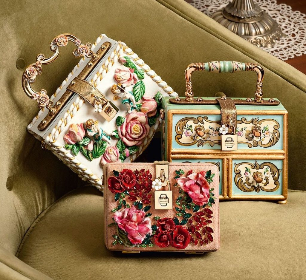 Dolce & Gabbana beautifully embellished bags you will love