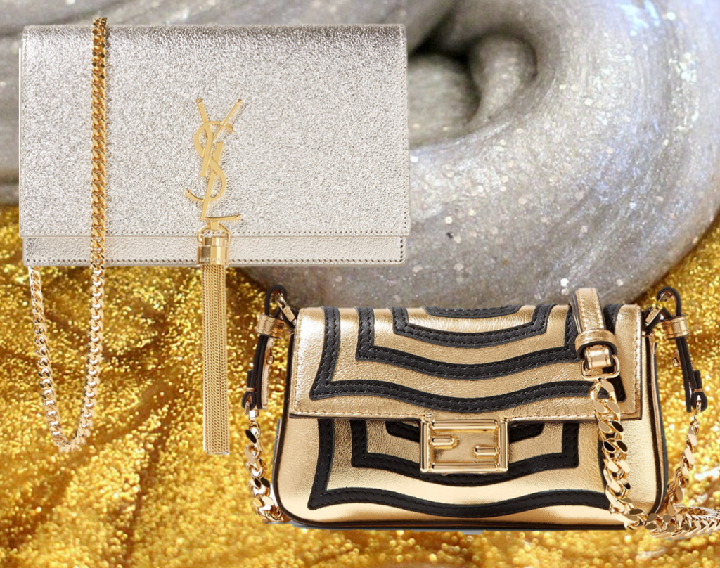 Silver and gold bags that will make you stand out from the crowd