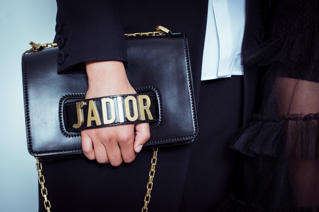 Dior J'adior. The new bag everyone is talking about right now