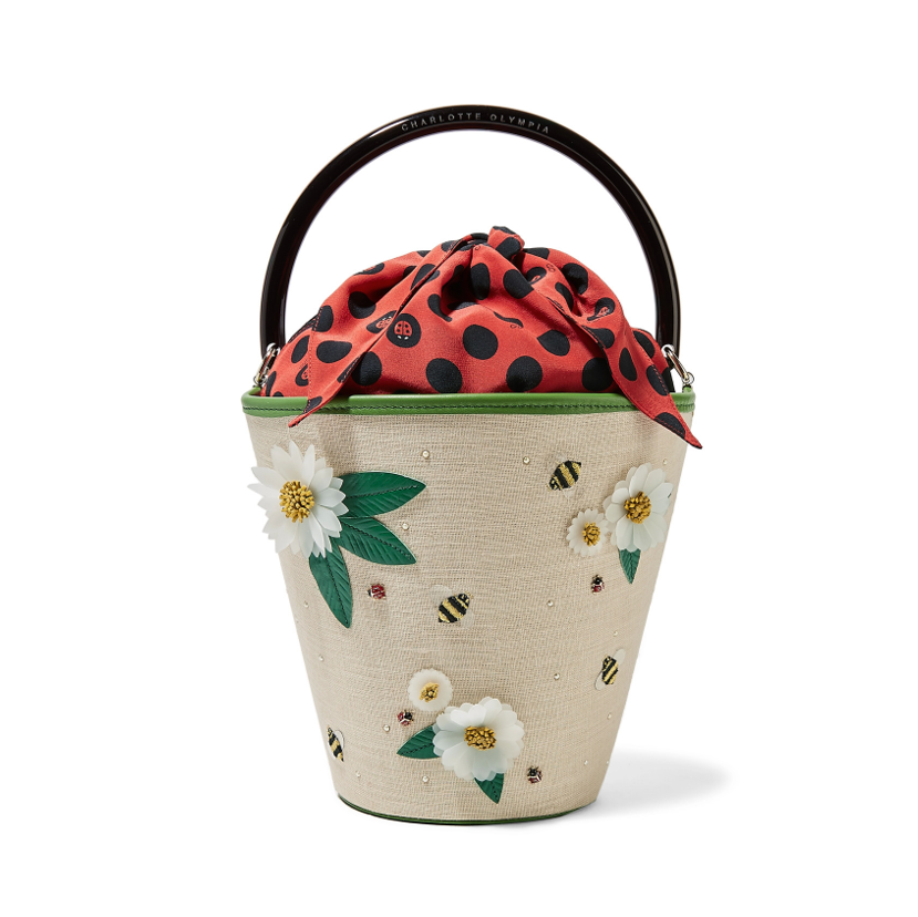 Floral bag Charlotte Olympia
