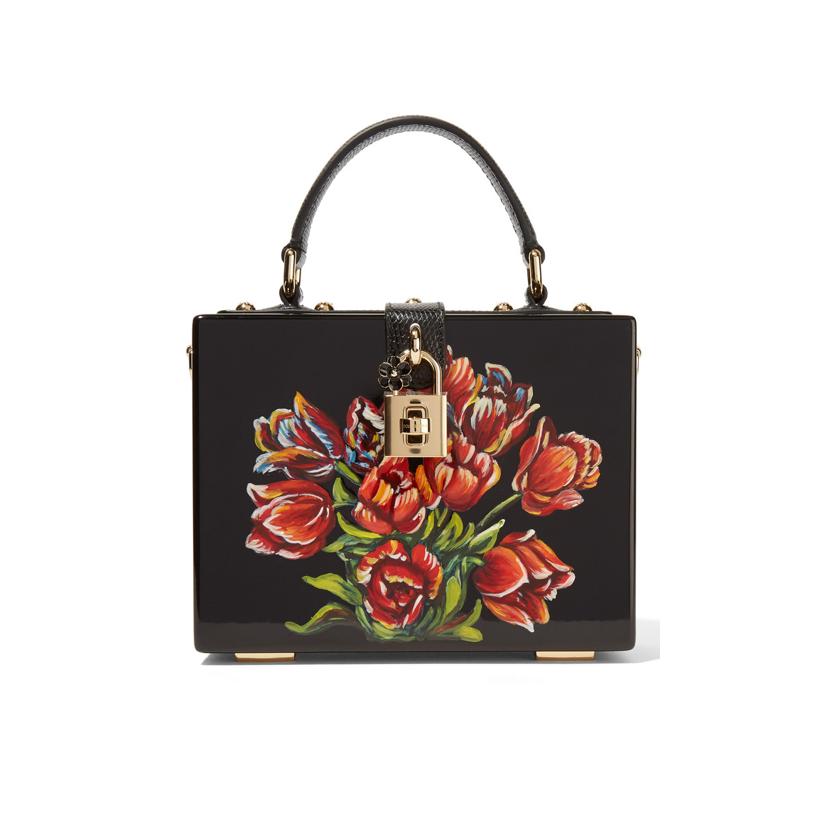 Floral bag Dolce Gabbana