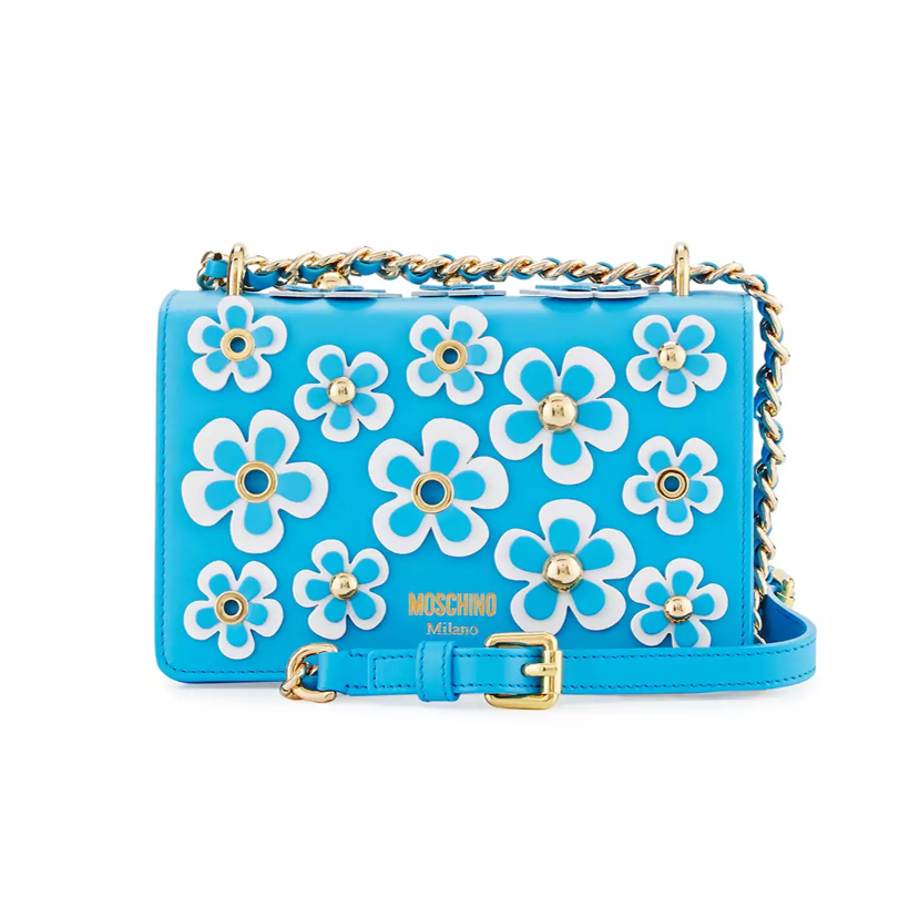 floral bag moschino