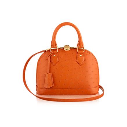 Louis Vuitton Alma orange