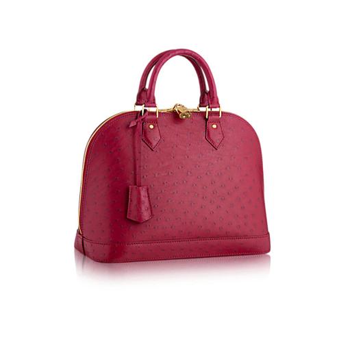 Louis Vuitton Alma pink