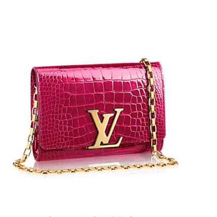 Louis Vuitton chain Louis bag