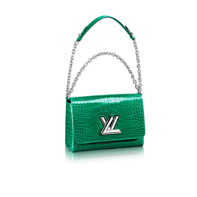 Louis Vuitton twist bag green