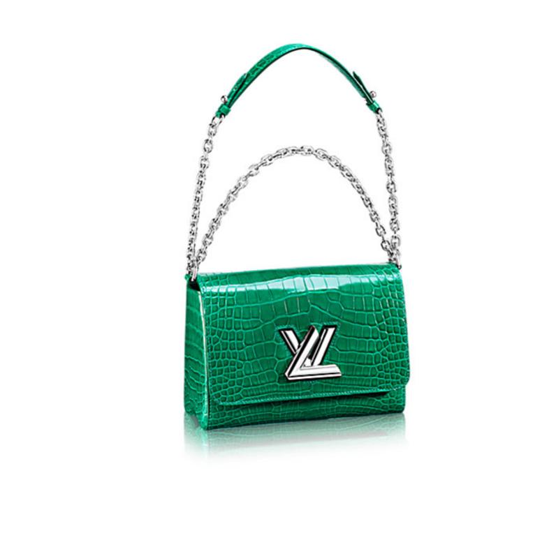 Louis Vuitton twist bag green