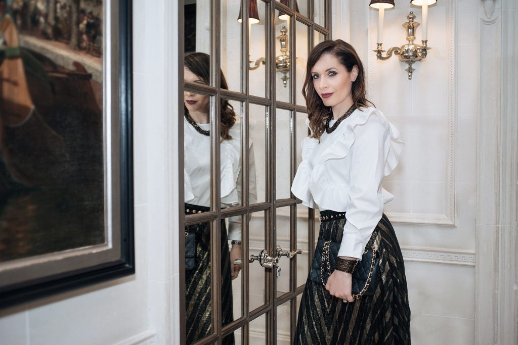 Here are my 3 simple rules about how to wear ruffles