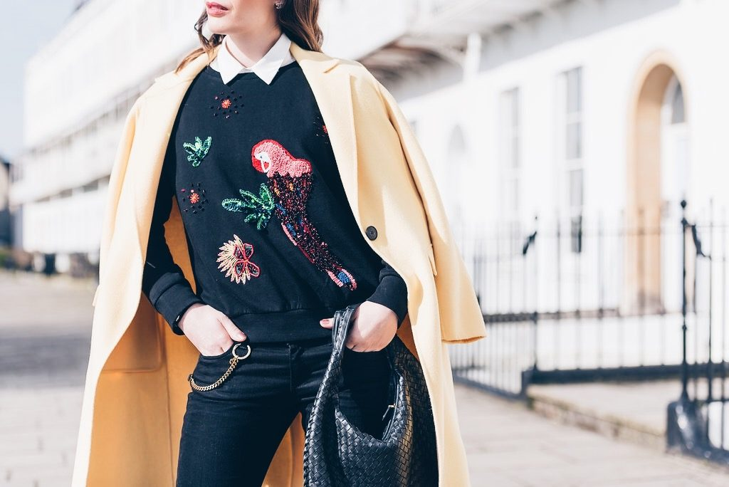 How to wear embellished clothes without looking overdressed