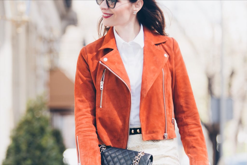 Leather jacket and why you should have at least one other than black in your wardrobe.