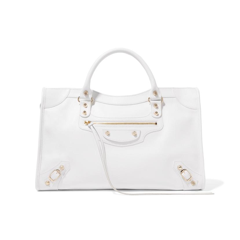 Balenciaga white handbag