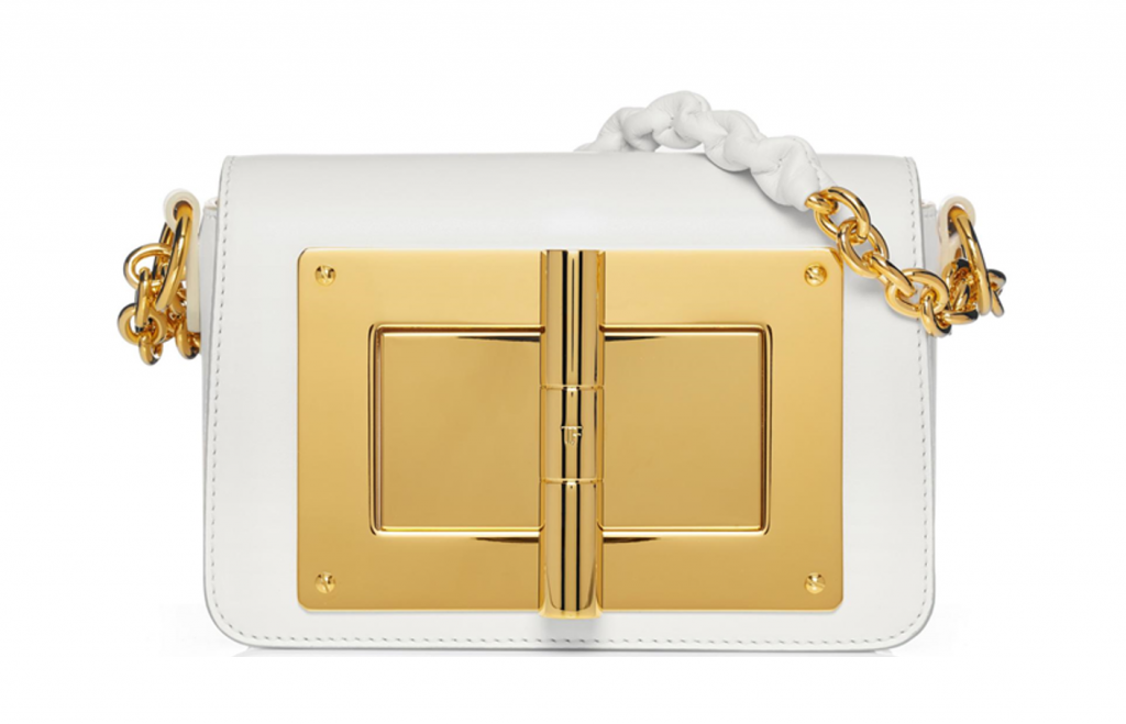 White handbag is a perfect accessory for the summer