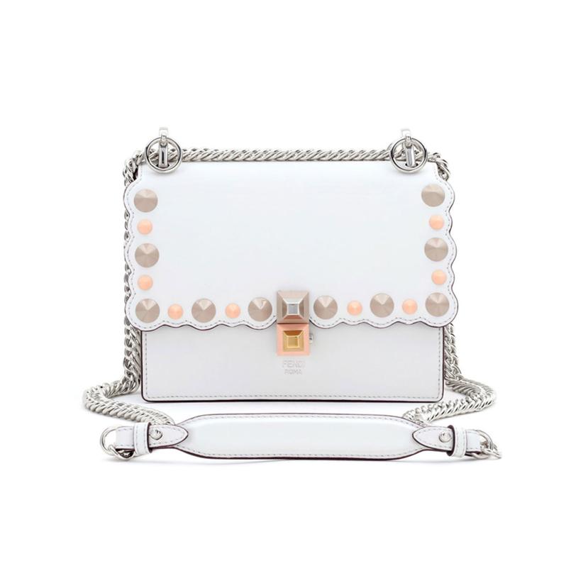 Fendi white handbag