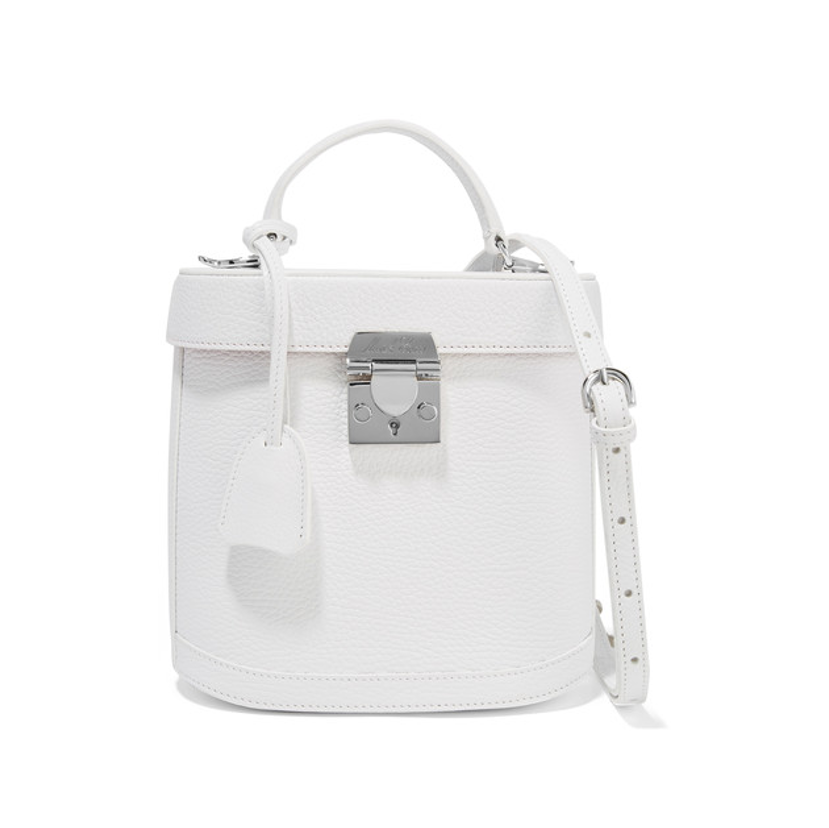 Marc Cross white handbag