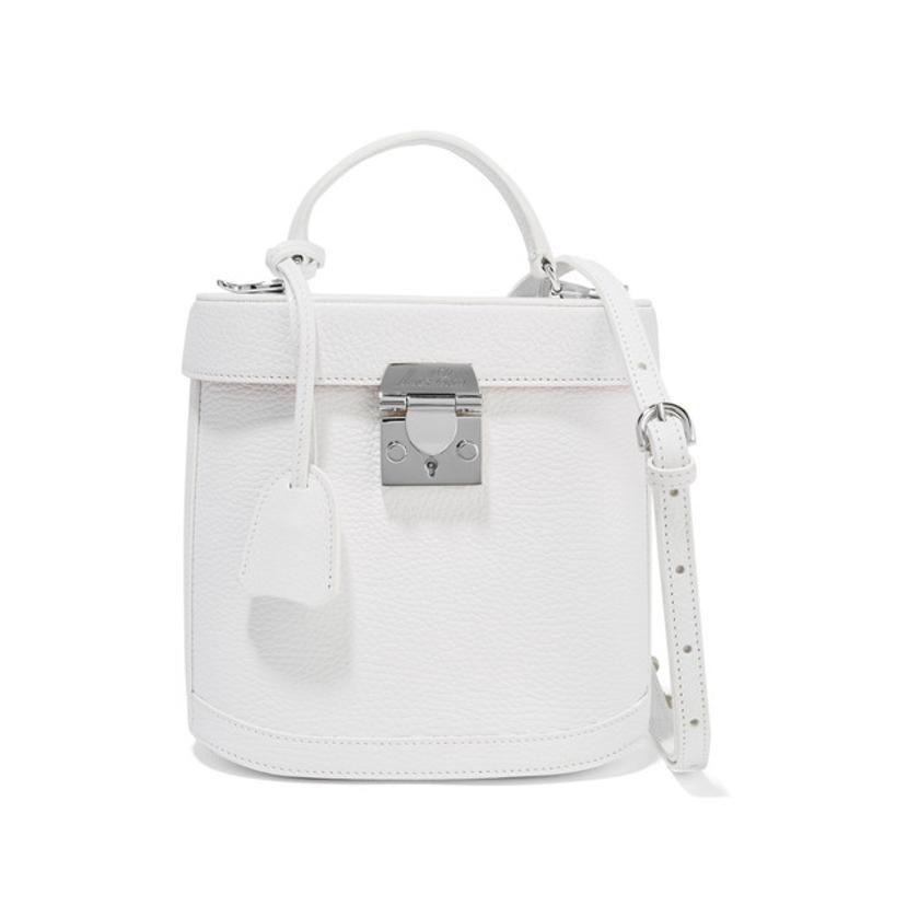 Marc Cross white handbag