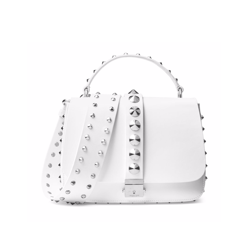 Michael Kors Collection white handbag