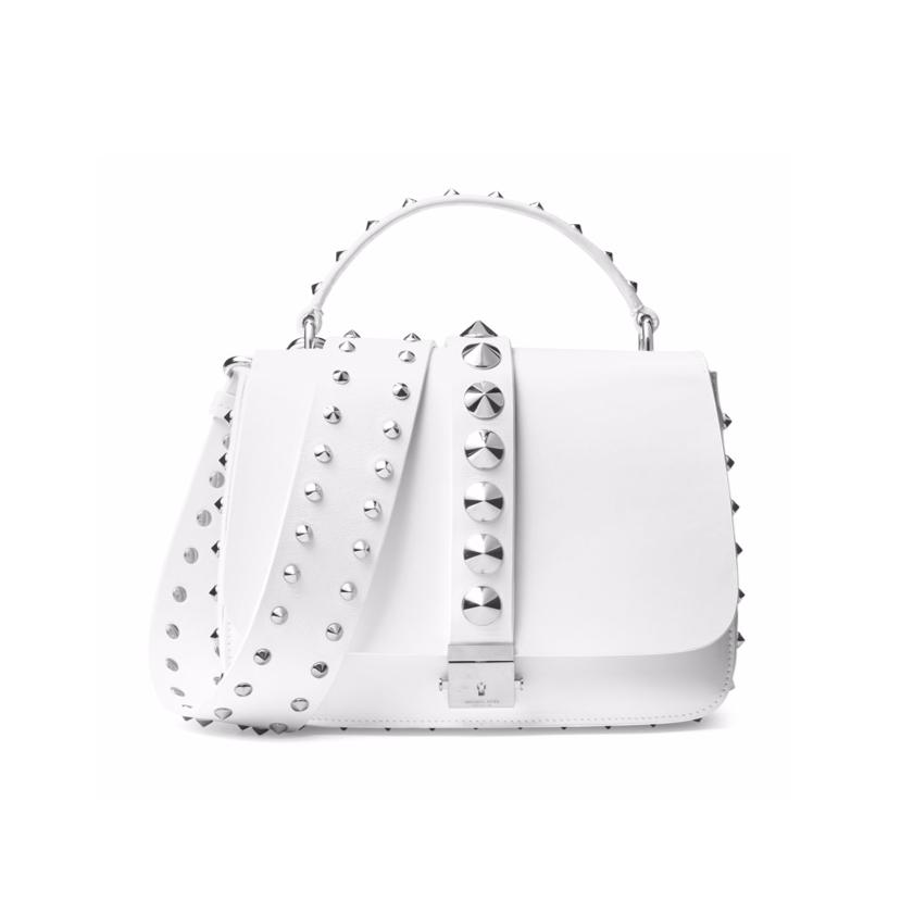 Michael Kors Collection white handbag