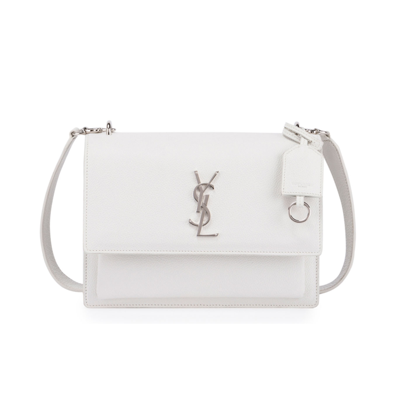 Saint Laurent white handbag