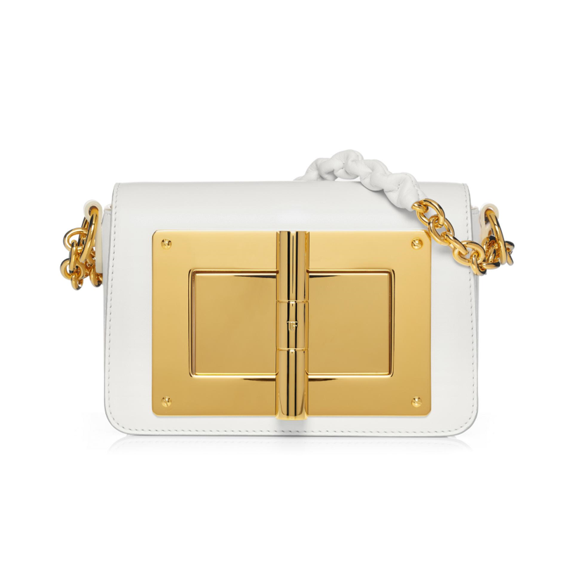 Tom Ford white handbag