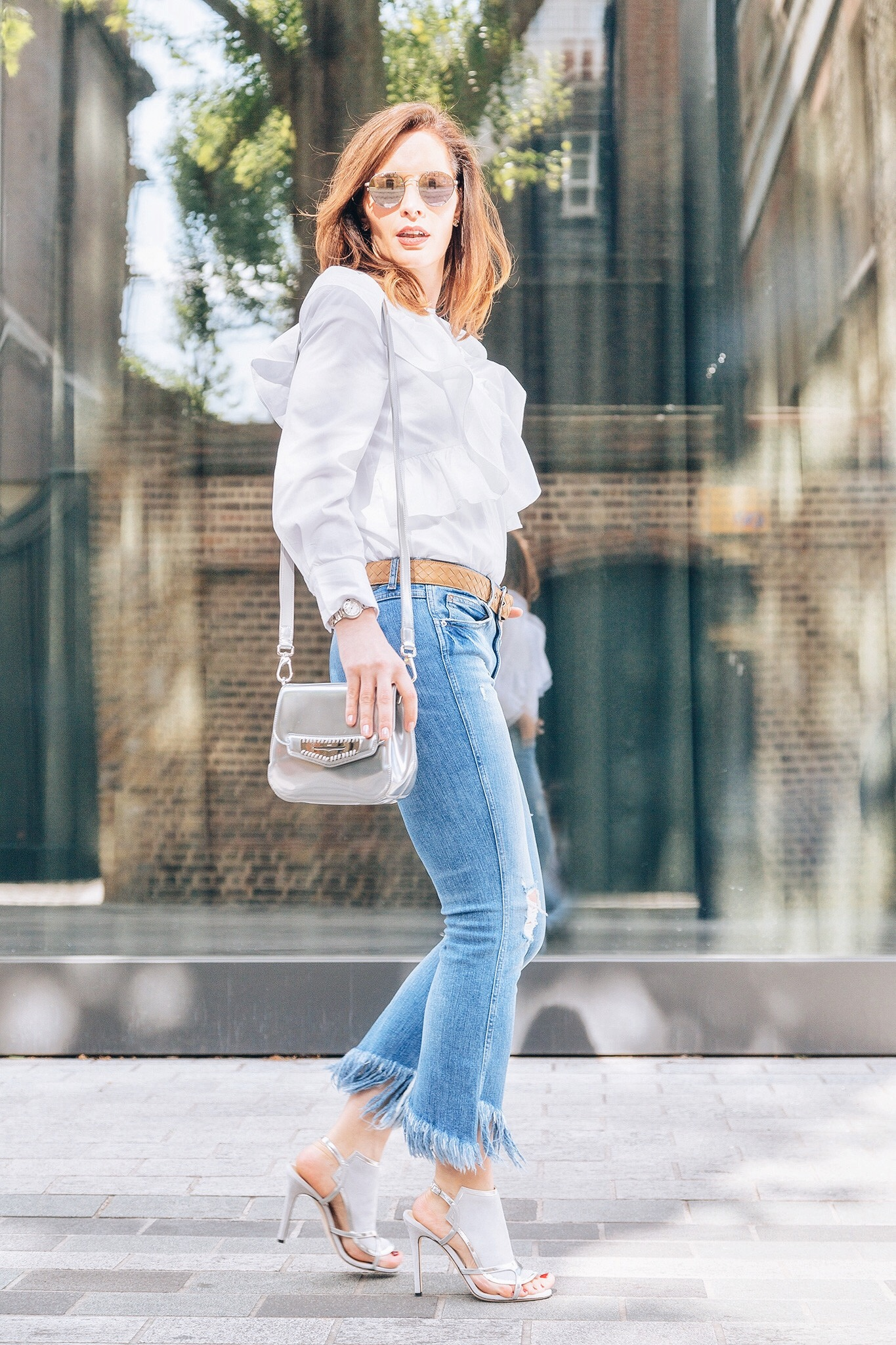 How to wear fringe jeans