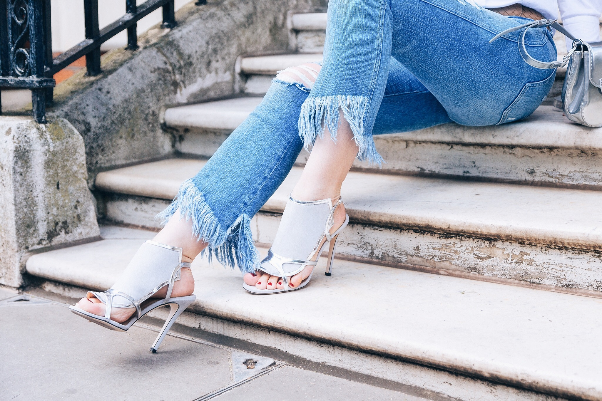 Alexander White heels