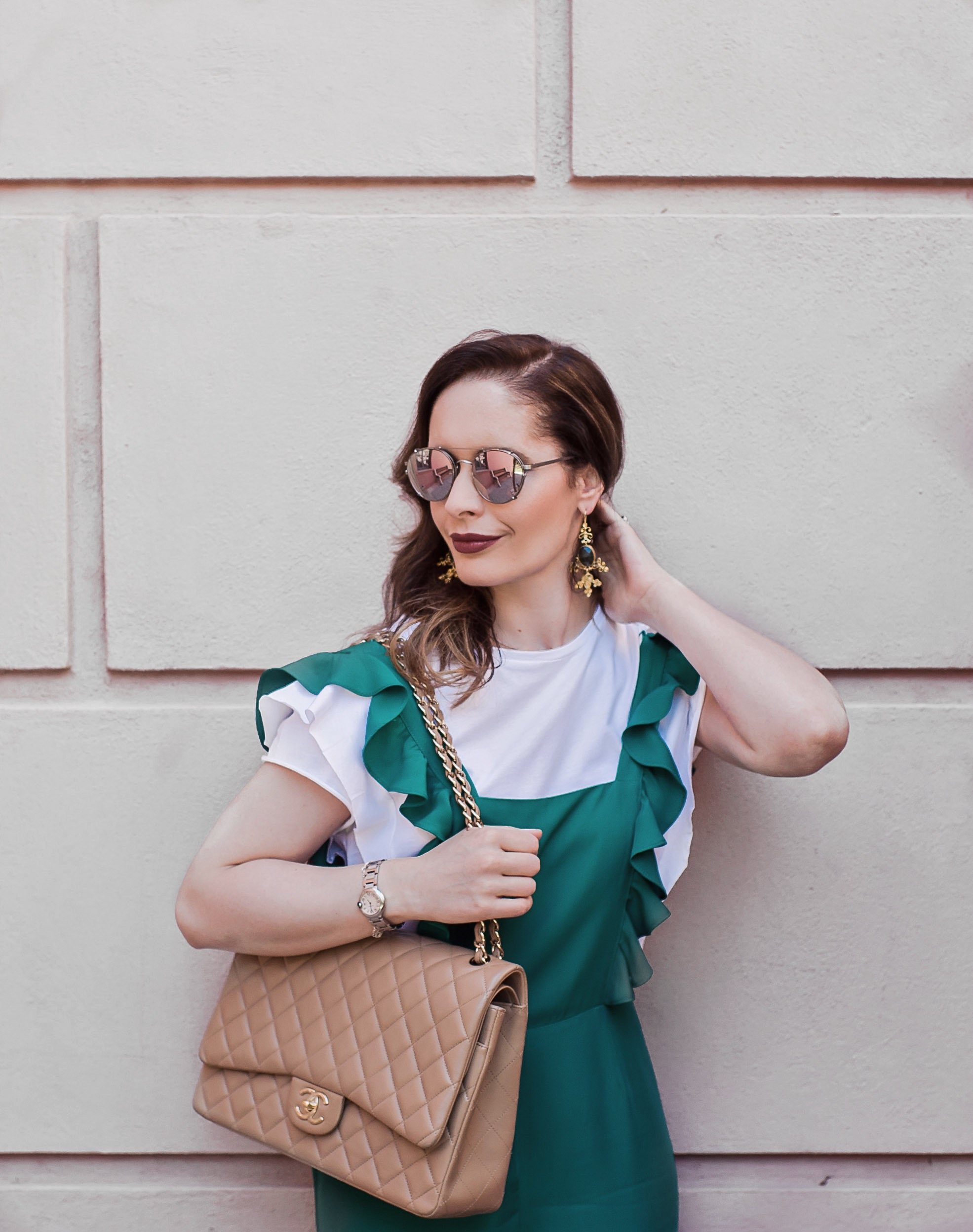 Ottoman Hands Earrings Bag Vibes blog