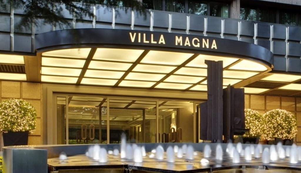 Villa Magna hotel in Madrid. Why this is your best choice when you travel to Spanish capital?