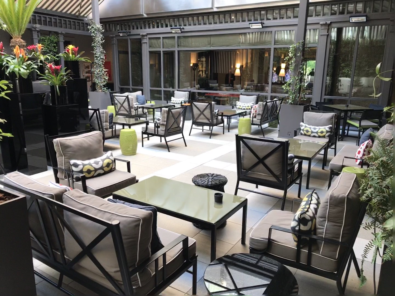 Vila Magna hotel terrace