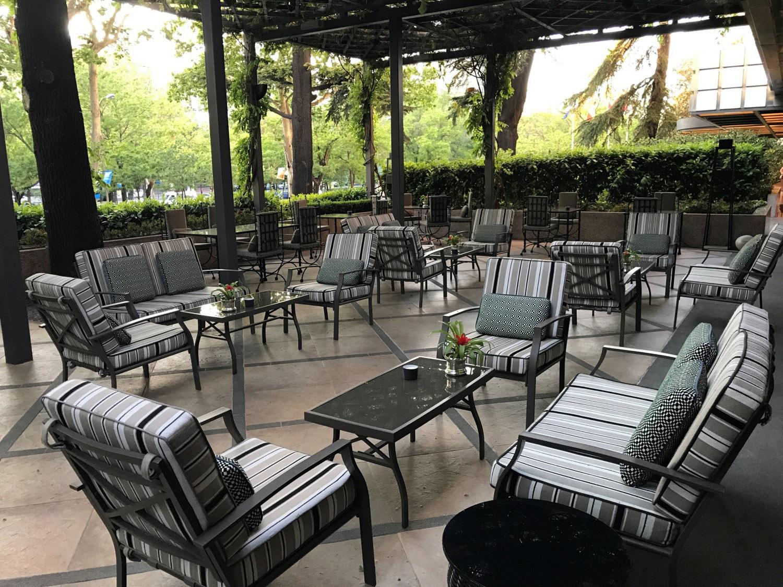 Villa Magna Hotel terrace