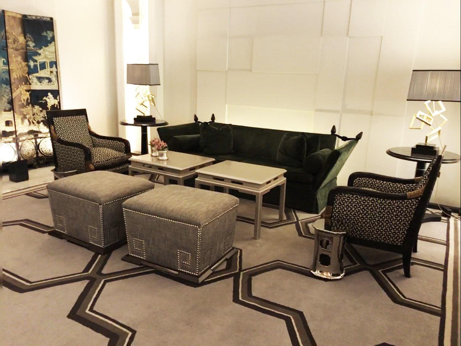 Villa Magna Hotel lounge
