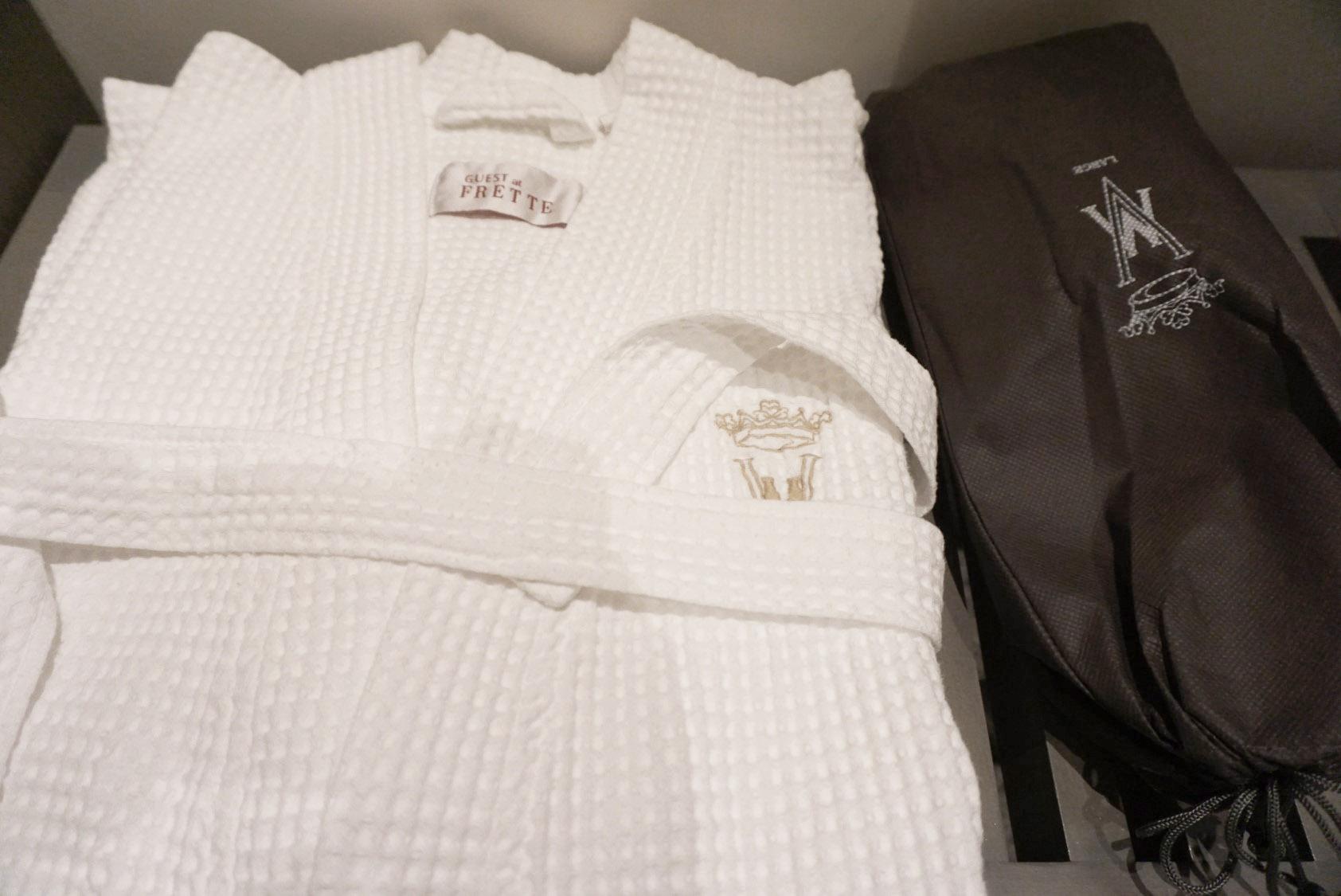 Villa Magna spa, Frette bath robes