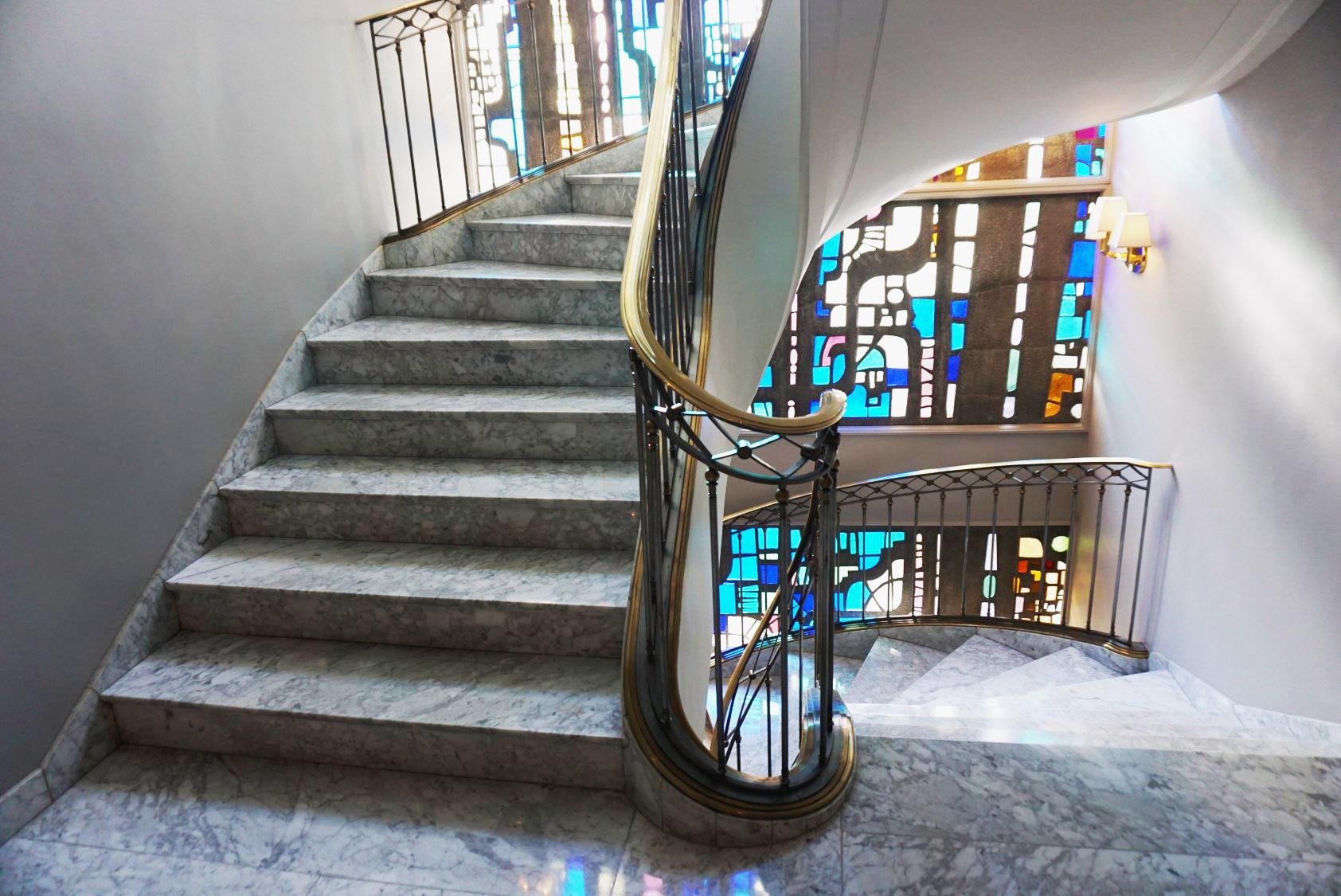 Villa Magna staircase