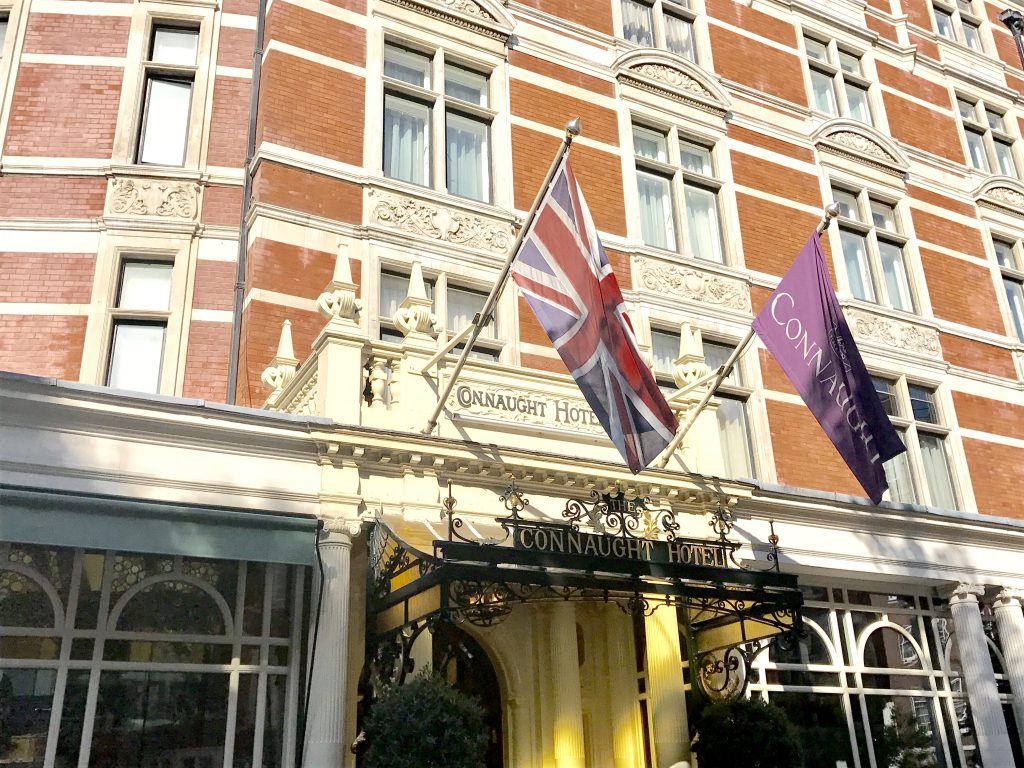 If you seek perfection, The Connaught hotel is your best choice in London
