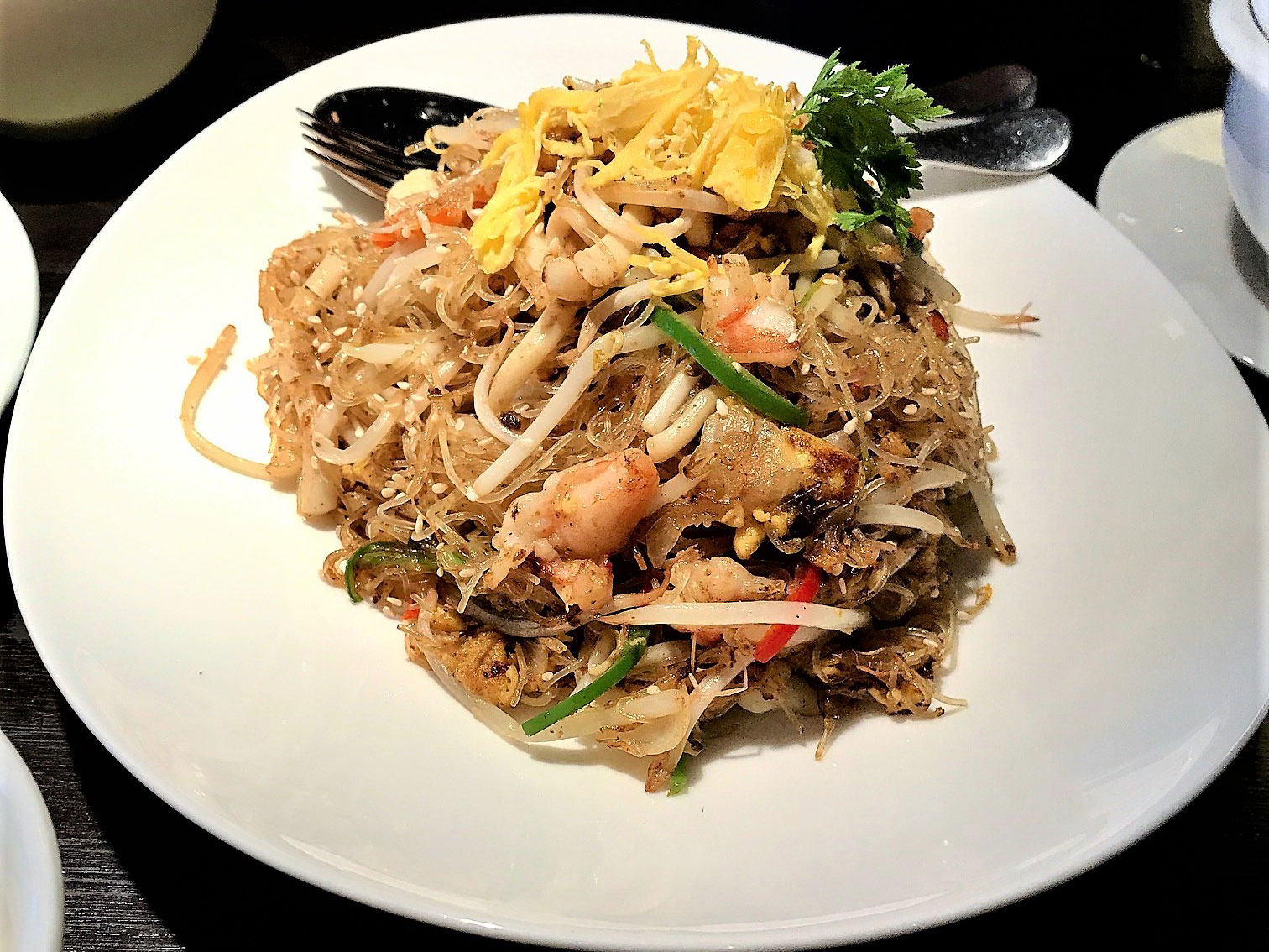 Vermicelli Noodles Hakkasan Mayfair London restaurant