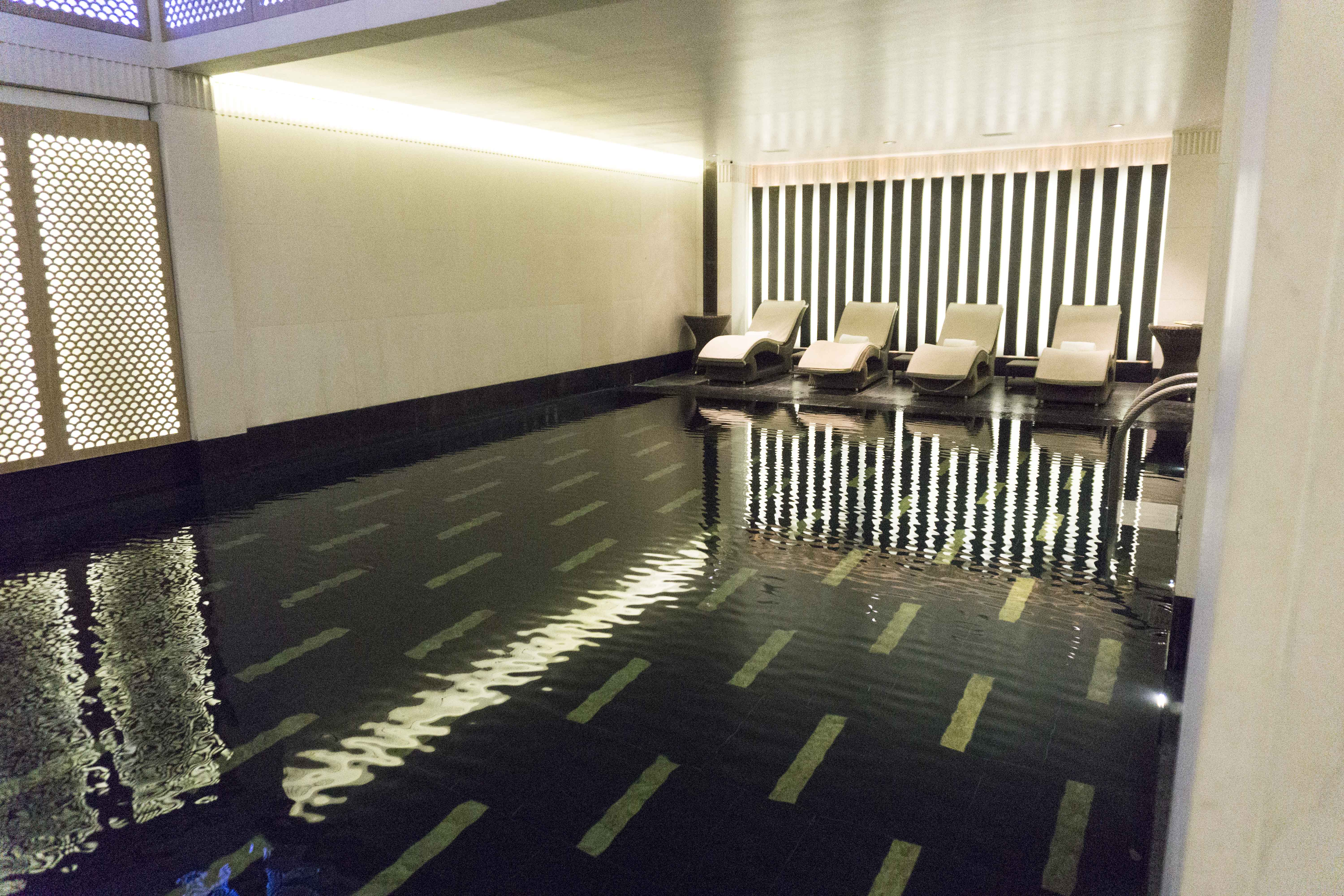 Swimming pool at the Connaught hotel