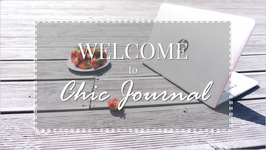 Welcome to CHIC JOURNAL!