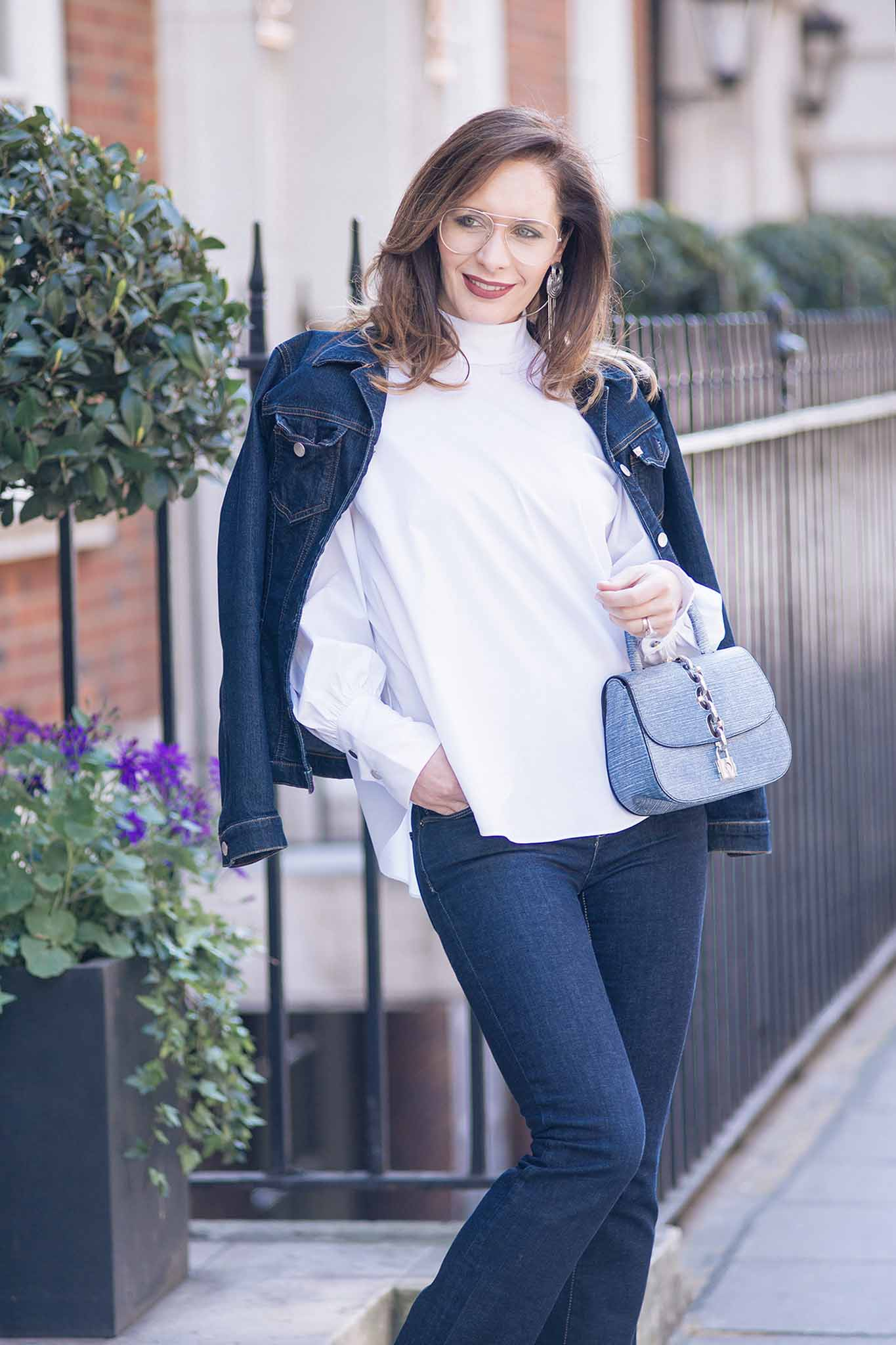 Chic Journal blogger Petra on how to wear double denim