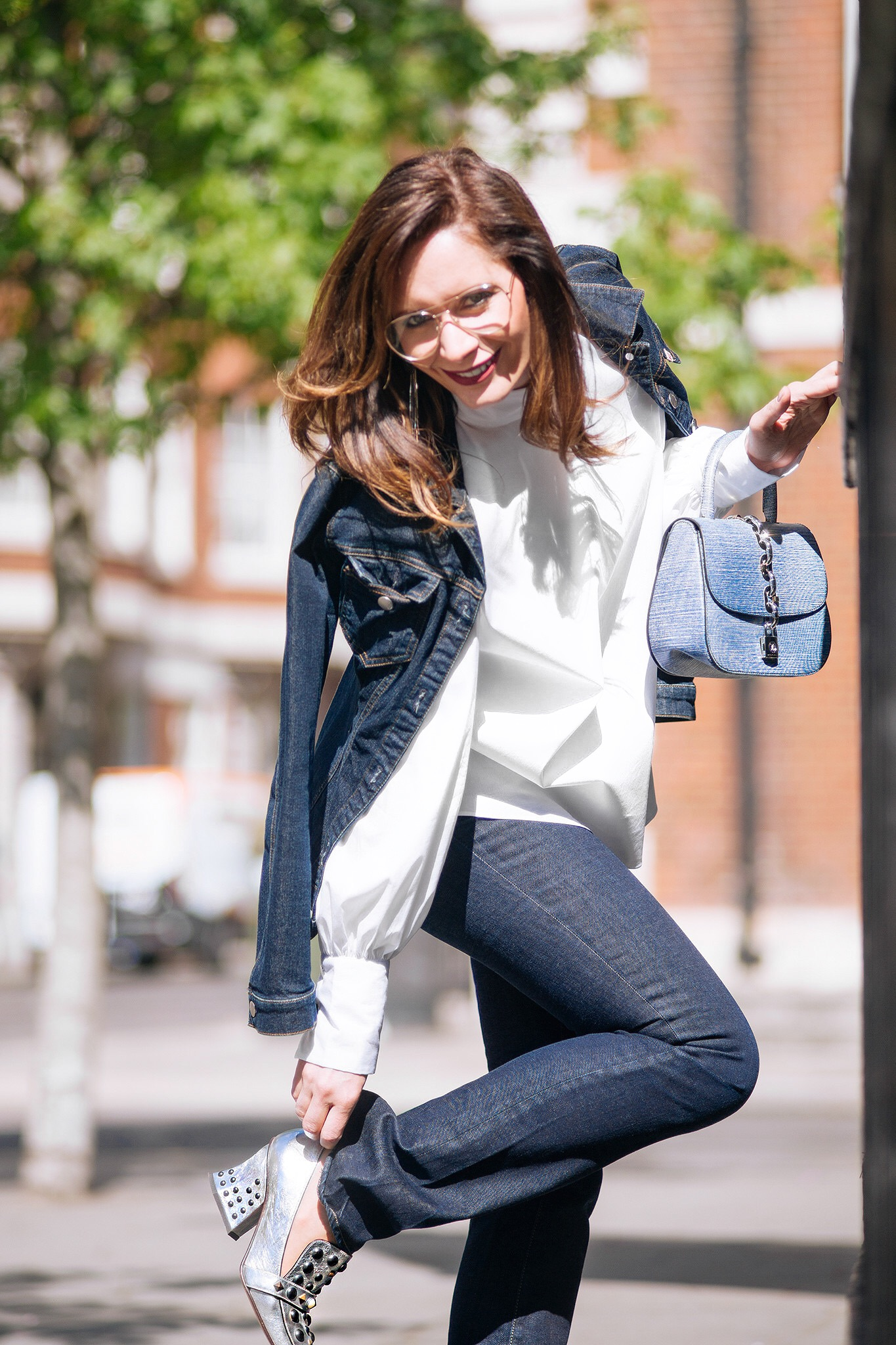 4 Rules how to wear double denim by Chic Journal blog