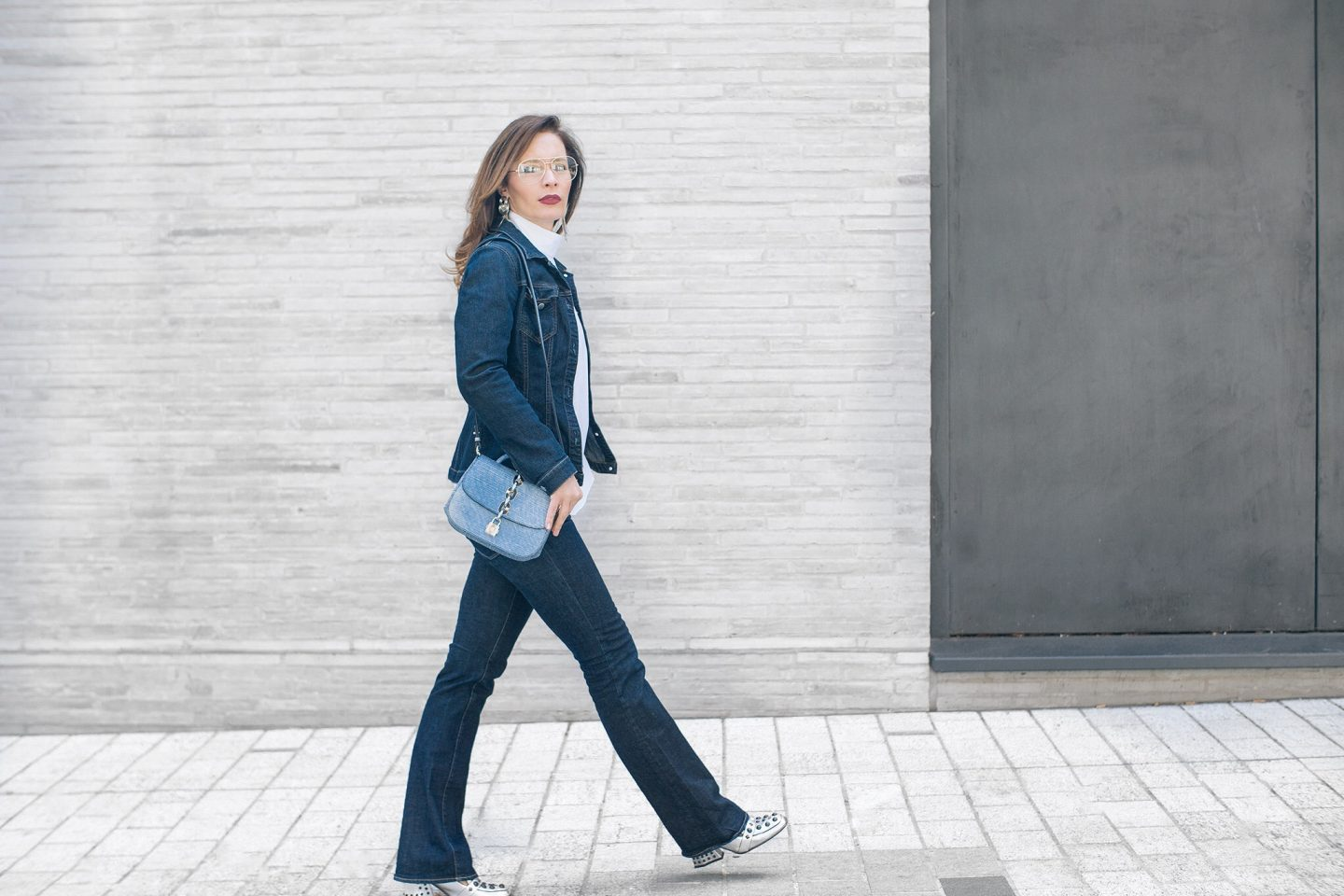 Double denim and how to wear it to look chic
