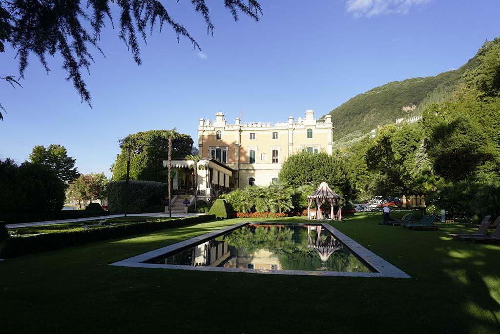 Villa Feltrinelli Lake Garda Italy Garden