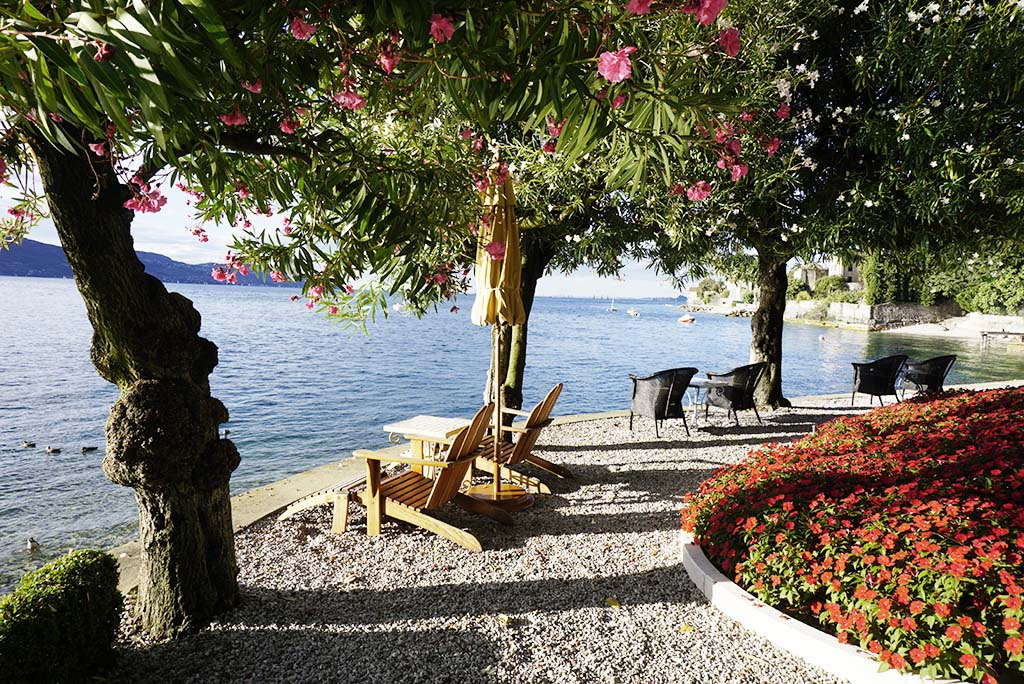Lake view at Villa Feltrinelli Lake Garda