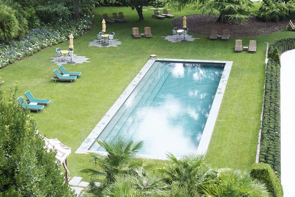 Pool at Villa Feltrinelli Lake Garda Italy