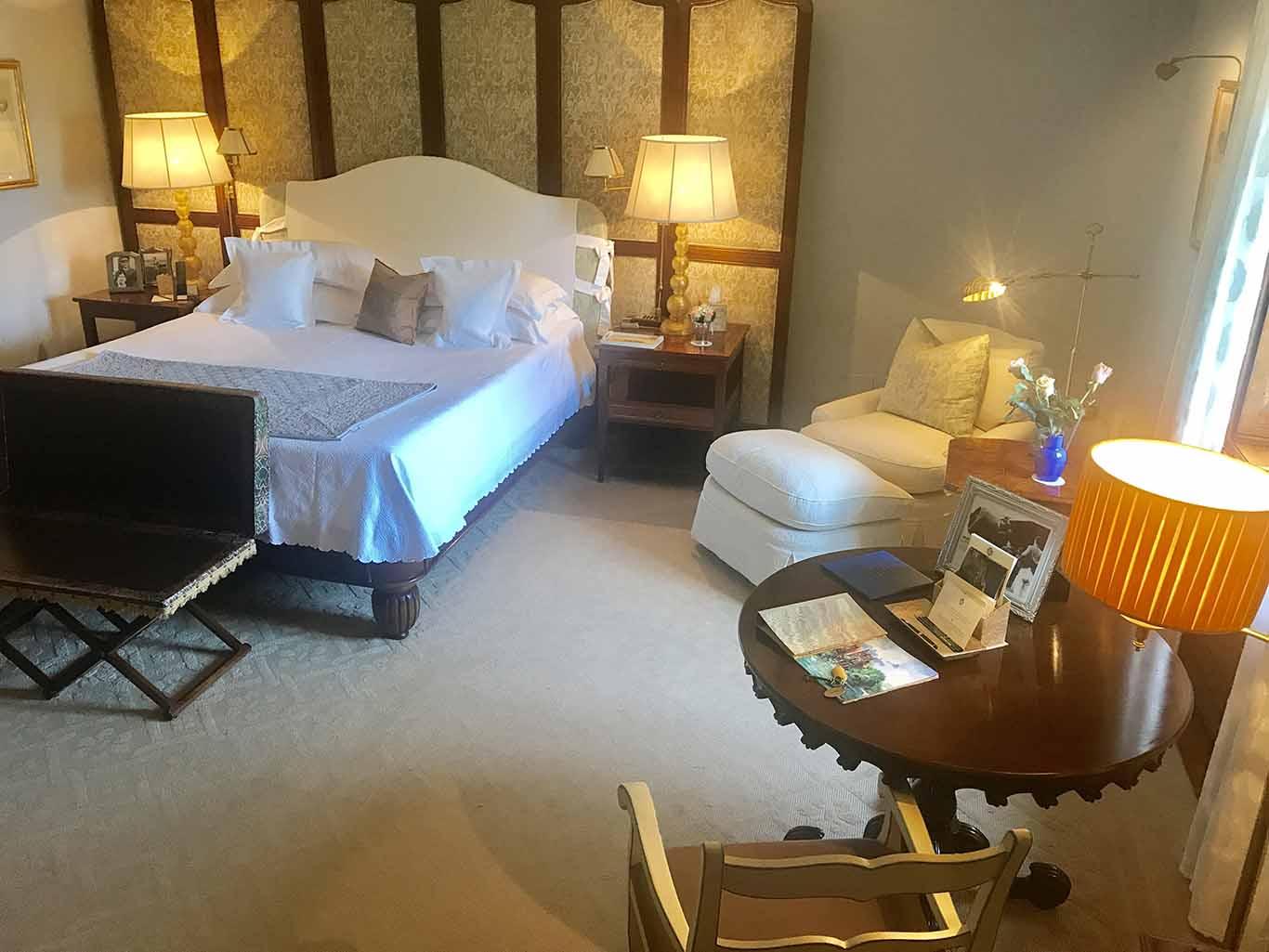 Room at Villa Feltrinelli