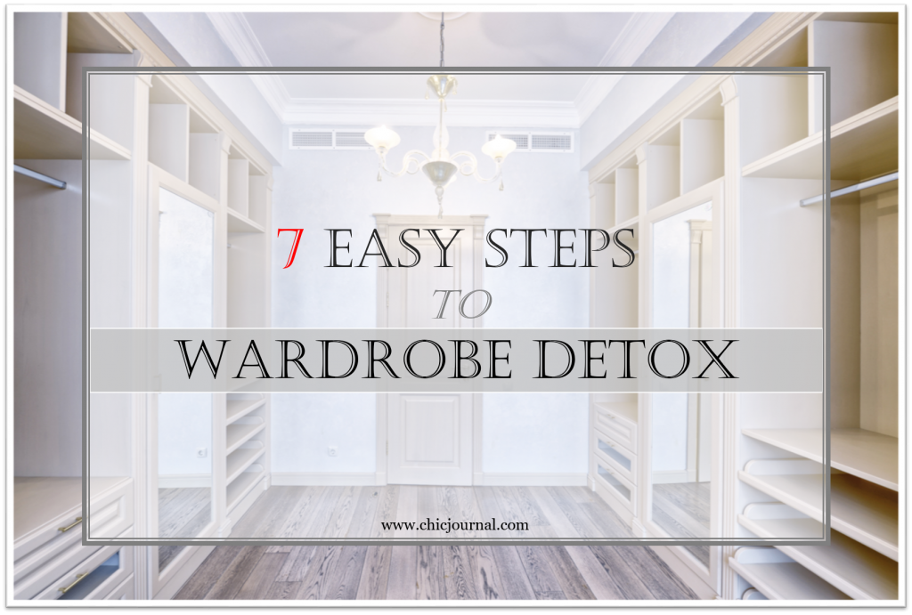 Discover the secret to an efficient wardrobe detox with these 7 rules to follow