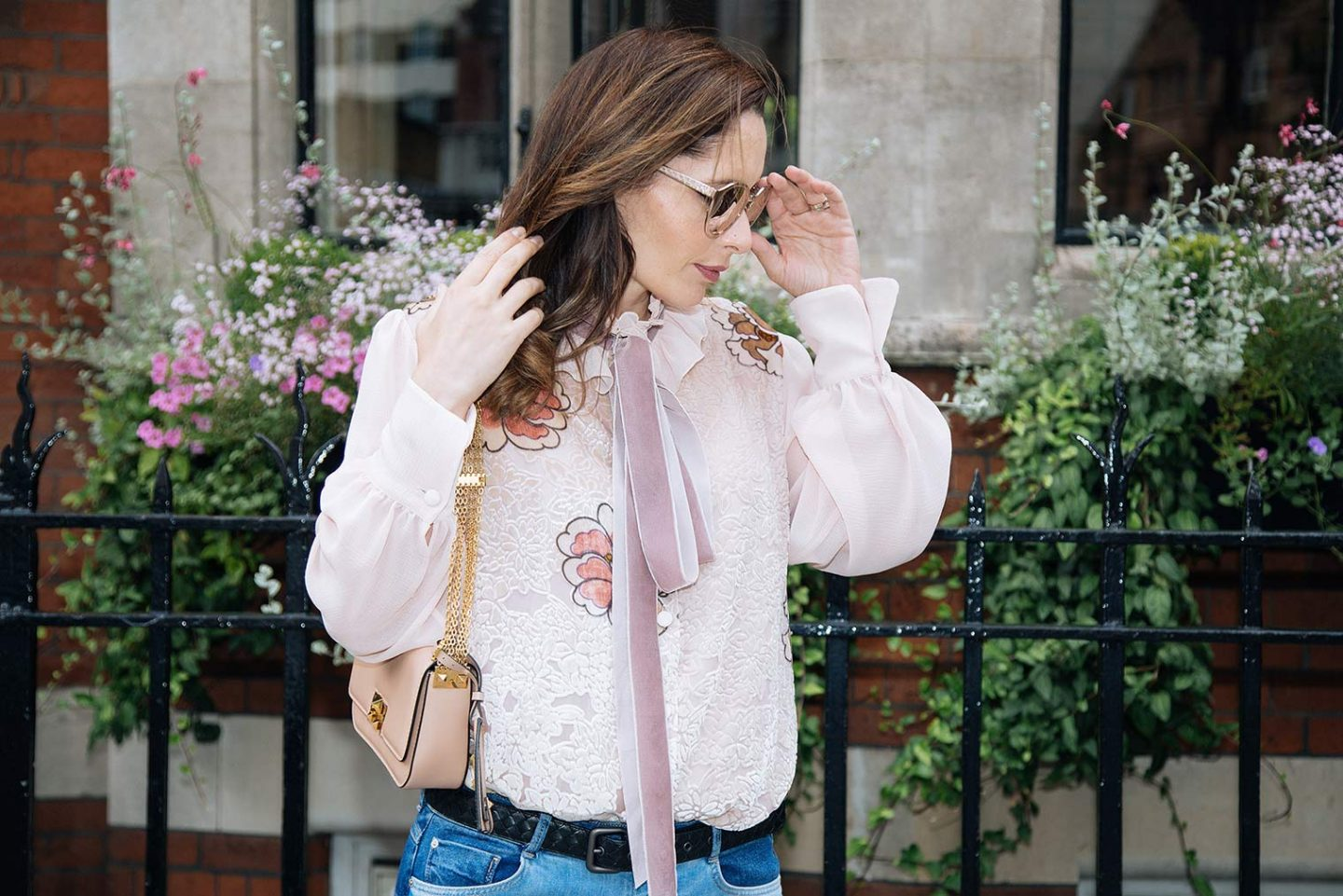 This See By Chloe shirt is perfect for your boho chic style