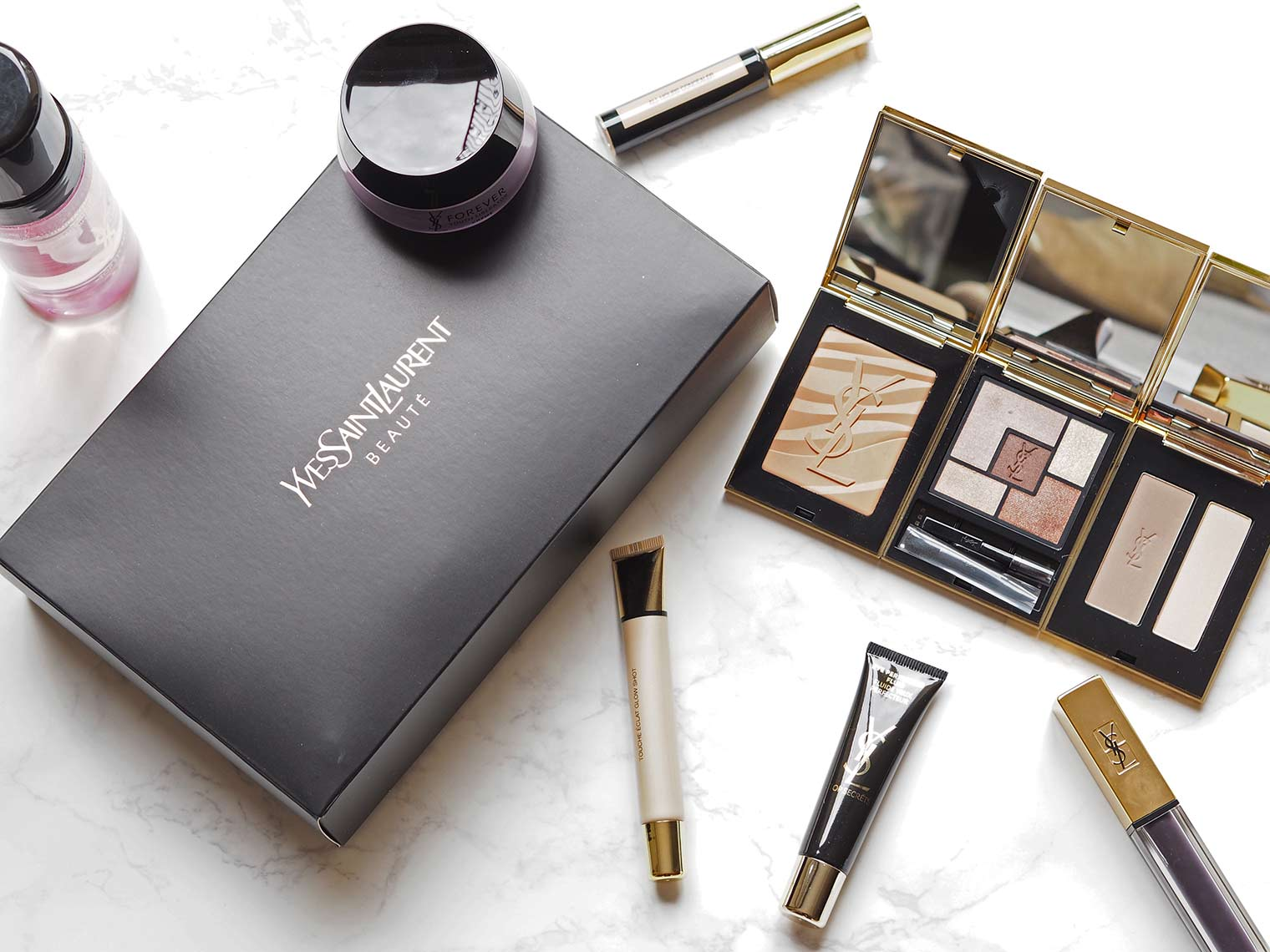 Petra from Chic Journal reviews YSL makeup products