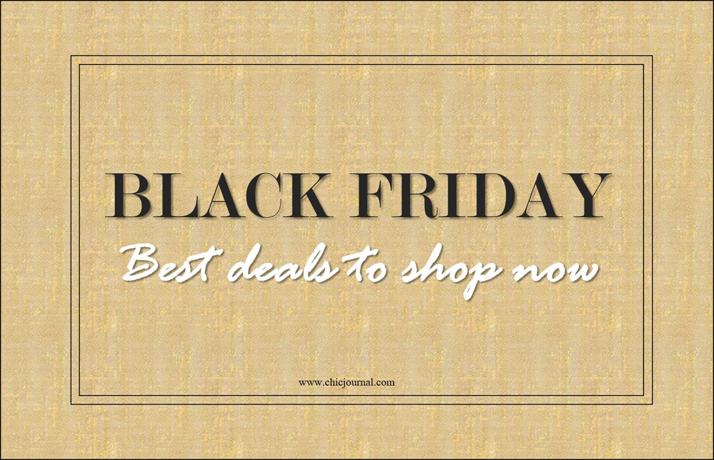 Black Friday SALES! The best deals you don't want to miss!