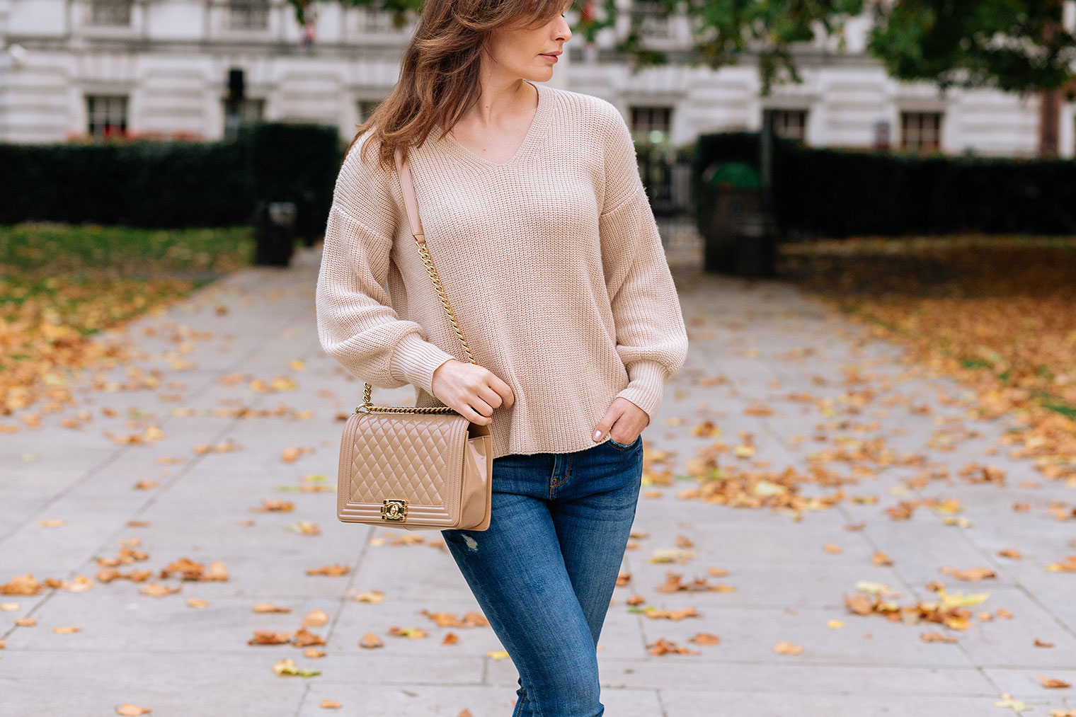 knitwear trends autumn 2017 with detail on the back