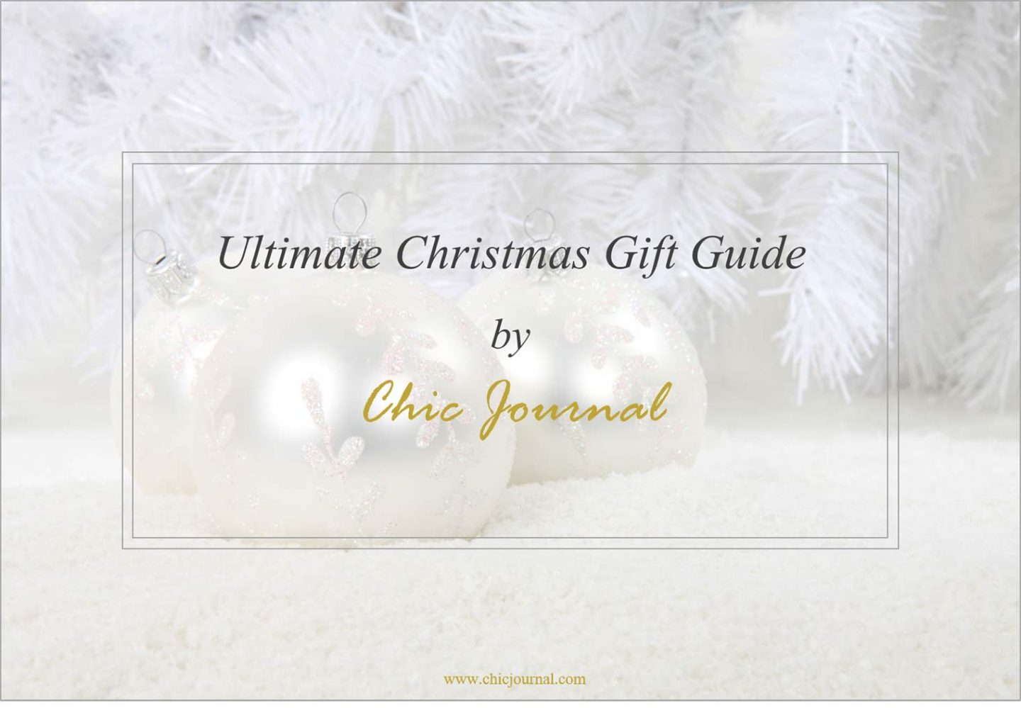 The Christmas gift. Your guide to best presents is finally here