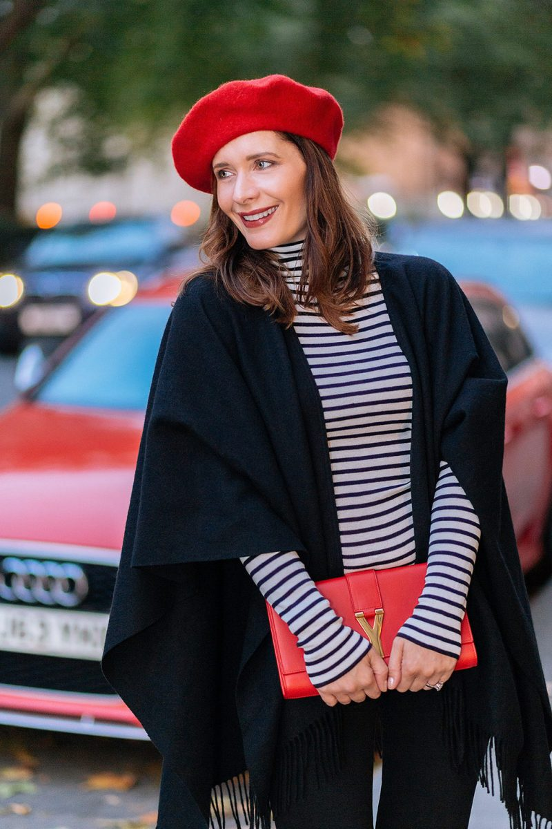 How to style beret and look chic